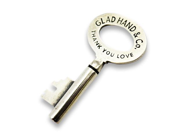 【GLAD HAND/グラッドハンド】「Key Pendant Top/キーペンダントトップ」(Silver925)【送料・代引き手数料無料】【あす楽対応】(GANGSTERVILLE/ギャングスタービル/WEIRDO/ウィアード/アメカジ/アクセサリー/プレゼント/ホットロッド)