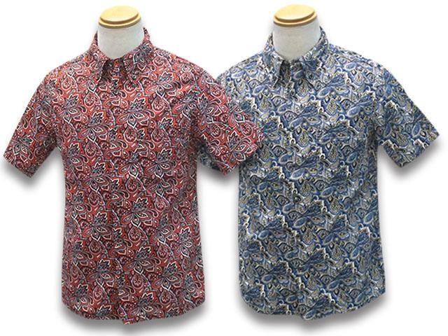 """全2色【JELADO""""STARRY GATE""""/ジェラード""""スターリーゲート""""】2020SS「Button Down Aloha Shirts/ボタンダウンアロハシャツ」(SG52115)【送料・代引き手数料無料】【あす楽対応】(John Gluckow/ジョングラッコー/アメカジ/ホットロッド/ハーレー/ウルフパック)"""