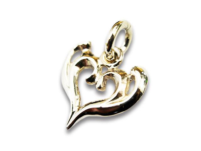 【FIRST ARROW's/ファーストアローズ】「Large Arabesque Heart Top/ラージアラベスクハートトップ」(P-258)【送料・代引き手数料無料】【あす楽対応】(アメカジ/ハーレー/バイカー/アクセサリー/プレゼント)