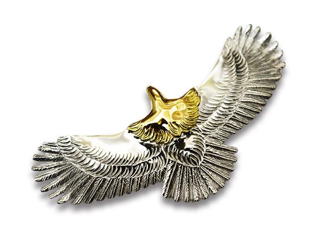 【FIRST ARROW's/ファーストアローズ】「Large Eagle/ラージイーグル」(P-400)【送料・代引き手数料無料】【あす楽対応】(アメカジ/ハーレー/バイカー/アクセサリー/プレゼント)