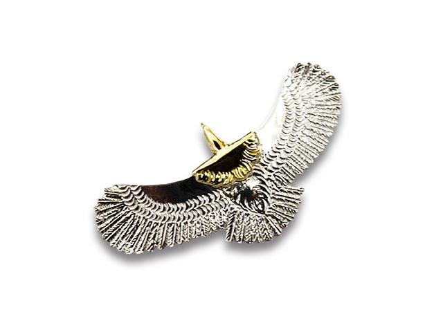 【FIRST ARROW's/ファーストアローズ】「Extra Small Eagle/エクストラスモールイーグル」(P-595)【送料・代引き手数料無料】【あす楽対応】(アメカジ/ハーレー/バイカー/アクセサリー/プレゼント)