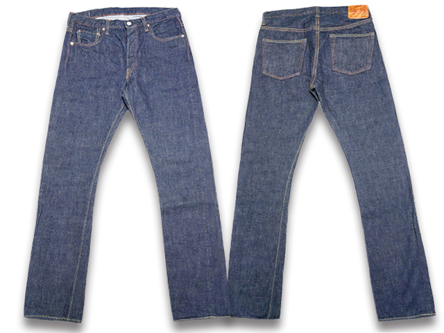 【FULLCOUNT/フルカウント】「Slim Straight Denim Pants/スリムストレートデニムパンツ」(1109W)【あす楽対応】(デニム/ジーンズ/インディゴ/アメカジ/ハーレー/ホットロッド/Gパン/ジーンズ/WOLF PACK/ウルフパック)