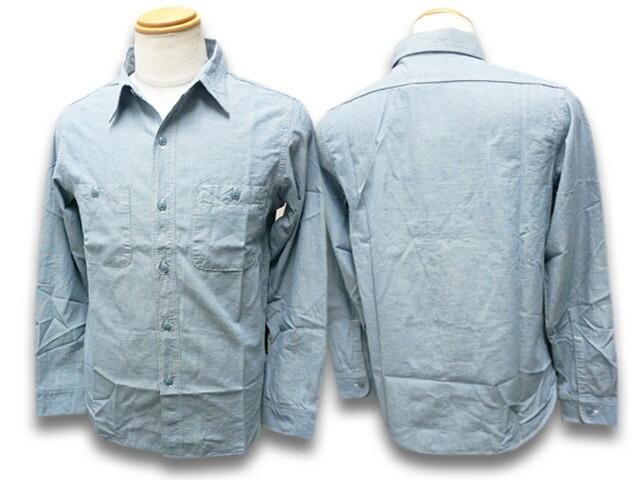【FULLCOUNT/フルカウント】「Basic Chambray Shirts/ベーシックシャンブレーシャツ」(4810)【送料・代引き手数料無料】【あす楽対応】(デニム/ジーンズ/インディゴ/アメカジ/ハーレー/ホットロッド/ミリタリー)