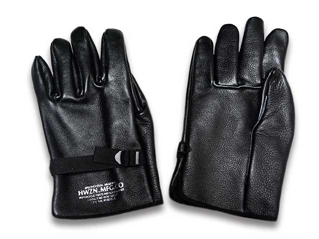 【HWZN BROSS/ハウゼンブロス】2018AW「Miritary Leather Glove/ミリタリーレザーグローブ」【送料・代引き手数料無料】【あす楽対応】(ハーレーダビッドソン/ハーレー/チョッパー/ボバー/カスタム/アメカジ/ホットロッド)