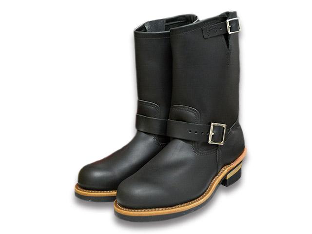 """ケアグッズ1点サービス【RED WING/レッドウイング】「11 inch Engineer Boots/11インチエンジニアブーツ」(2268/Black""""Chrome"""")【送料・代引き手数料無料】【あす楽対応】(エンジニアブーツ/ワークブーツ/ハーレー/バイク/アメカジ/PT91/PT83)"""