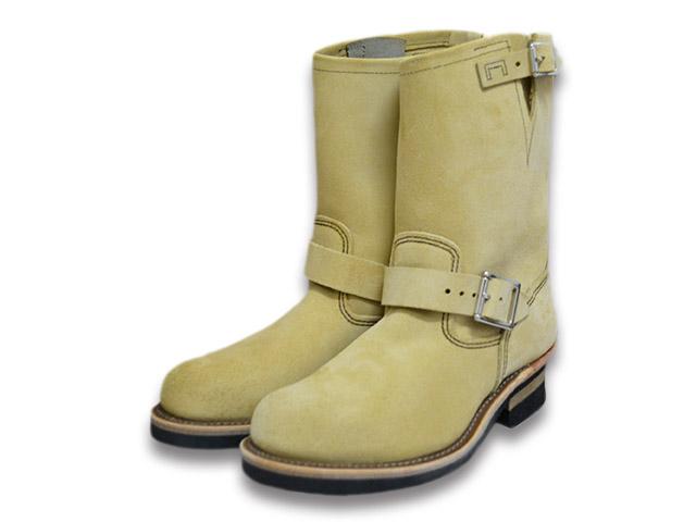 """ケアグッズ1点サービス【RED WING/レッドウイング】「11 inch Engineer Boots/11インチエンジニアブーツ」(8268/Hawthorne""""Abilene""""Roughout)【送料・代引き手数料無料】【あす楽対応】(エンジニアブーツ/ワークブーツ/ハーレー/バイク/アメカジ/PT91/PT83)"""