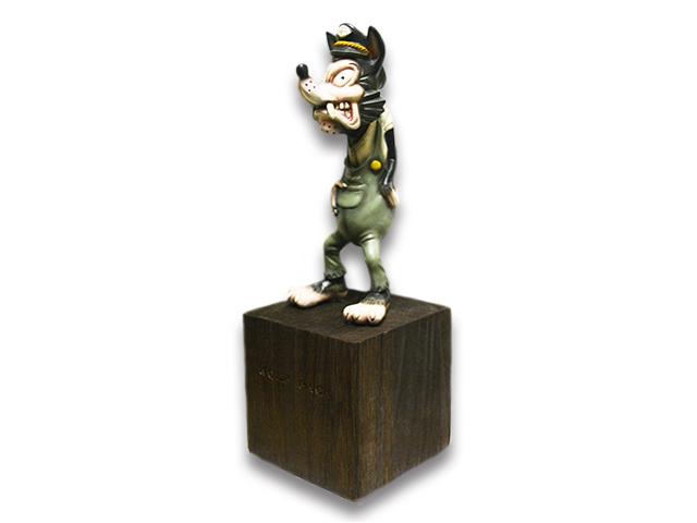 """【WOLF PACK/ウルフパック】×【RMODELS/アールモデルス】「Wolf Figure""""Full Color""""/ウルフフィギュア""""フルカラー""""」【送料・代引き手数料無料】【あす楽対応】(Lucky Rudy/ラッキールーディー/ハーレー/バイカー/バイク/アメカジ/プレゼント)"""