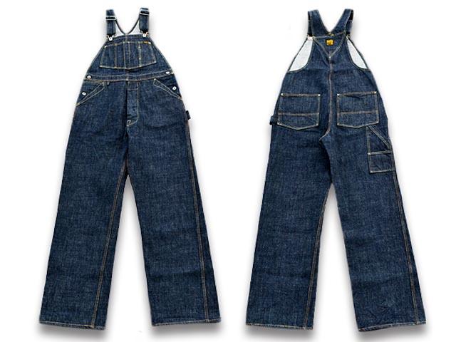 【TROPHY CLOTHING/トロフィークロージング】「Carpenter Overalls/カーペンターオーバーオール」(1603)【送料・代引き手数料無料】【あす楽対応】(アメカジ/ハーレー/ホットロッド/東京インディアンズ/WOLF PACK/ウルフパック)