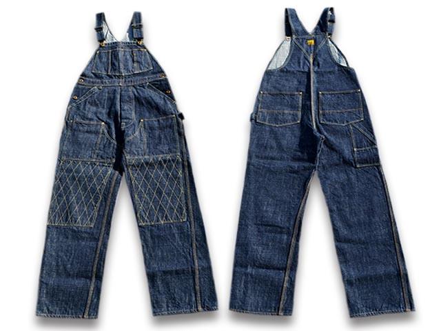 【TROPHY CLOTHING/トロフィークロージング】「Double Knee Carpenter Overalls/ダブルニーカーペンターオーバーオール」(1603W)【送料・代引き手数料無料】【あす楽対応】(アメカジ/ハーレー/ホットロッド/東京インディアンズ/WOLF PACK/ウルフパック)