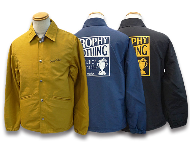 全3色【TROPHY CLOTHING/トロフィークロージング】2020AW「Box Logo Warm Up Jacket/ボックスロゴウォームアップジャケット」(TR20SP-504)【あす楽対応】(ホイールズアパレル/アメカジ/ハーレー/バイク/東京インディアンズ/ホットロッド/WOLF PACK/ウルフパック)
