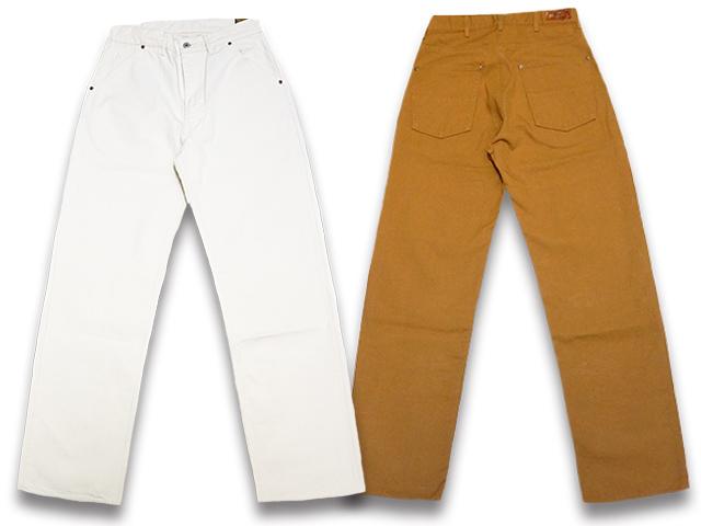 全2色【TROPHY CLOTHING/トロフィークロージング】「Standard Brownie Duck Pants/スタンダードブラウニーダックパンツ」(1805)【送料・代引き手数料無料】【あす楽対応】(アメカジ/ハーレー/バイク/ホットロッド/東京インディアンズ)