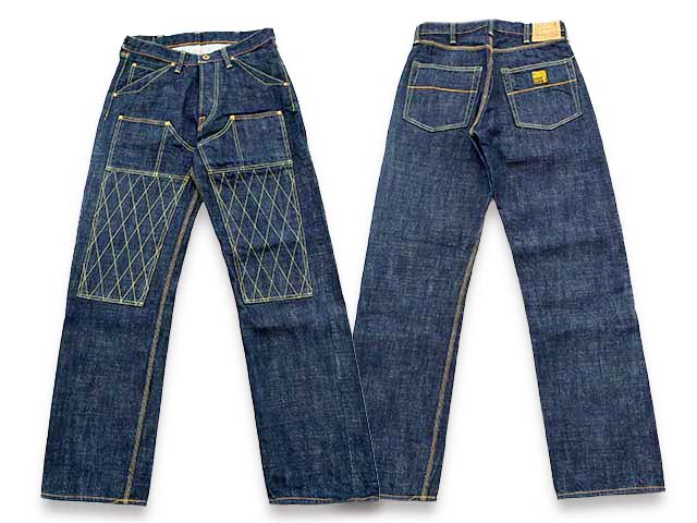 【TROPHY CLOTHING/トロフィークロージング】「Double Knee Standard Dirt Denim/ダブルニースタンダードダートデニム」(1606)【送料・代引き手数料無料】【あす楽対応】(アメカジ/ハーレー/バイク/デニム/経年変化/東京インディアンズ/ホットロッド)