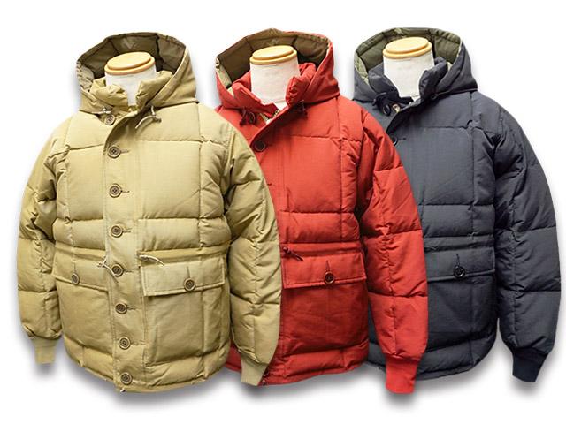 全3色【TROPHY CLOTHING/トロフィークロージング】2019AW「Alpine Down Jacket/アルパインダウンジャケット」(TR19AW-508)【送料・代引き手数料無料】【あす楽対応】(アメカジ/ハーレー/バイク/ホットロッド/ミリタリー/東京インディアンズ)