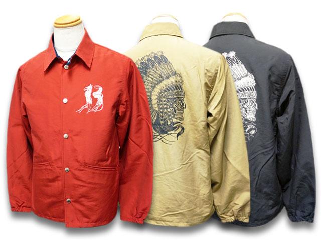全3色【TROPHY CLOTHING/トロフィークロージング】2019AW「Magical Chief Warm Up Jacket/マジカルチーフウォームアップジャケット」(TR19SP-504)【送料・代引き手数料無料】【あす楽対応】(アメカジ/ハーレー/バイク/東京インディアンズ/ホットロッド)