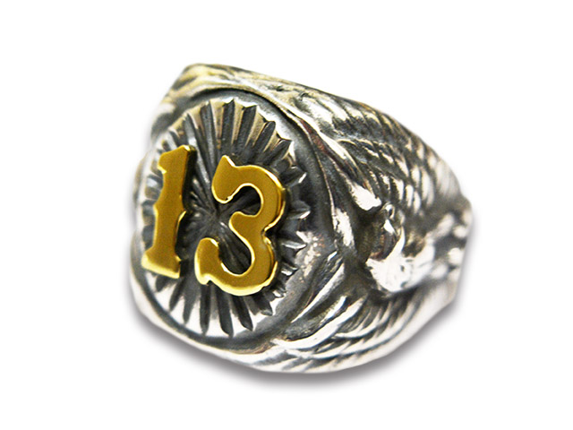 【RED TAiL/レッドテイル】「13 Ring/サーティーンリング」(ASR-11SVBR)【送料・代引き手数料無料】【あす楽対応】(ViSE CLOTHiNG/バイスクロージング/レッドテール/バイス/名古屋/ハーレー/Argent Gleam/アージェントグリーム)