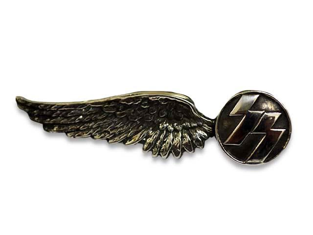 【SKULL FLIGHT/スカルフライト】Silver950 SS Wing Pins/シルバー950製SSウイングピンズ【送料・代引き手数料無料】【あす楽対応】(CALIFORNIA LINE/カリフォルニアライン)