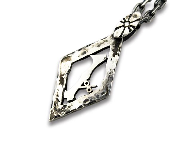 【SKULL FLIGHT/スカルフライト】「1% Pendant Top&Necklace Chain/1%ペンダントトップ&ネックレスチェーン」(50cm)【送料・代引き手数料無料】【あす楽対応】(CALIFORNIA LINE/カリフォルニアライン/ハーレー/アメカジ/プレゼント)
