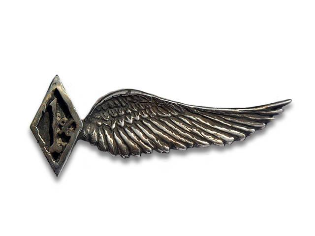 楽天市場 skull flight スカルフライト silver950 1 wing pins