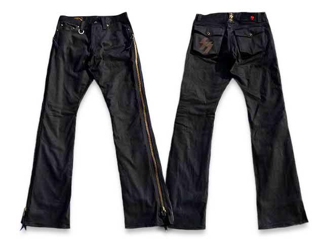 """【SKULL FLIGHT/スカルフライト】「SS Pants Type4 Boots Cut""""Stretch""""/SSパンツタイプ4ブーツカット""""ストレッチ""""」【送料・代引き手数料無料】【あす楽対応】(CALIFORNIA LINE/カリフォルニアライン/ハーレー/バイク/バイカー/ホットロッド)"""
