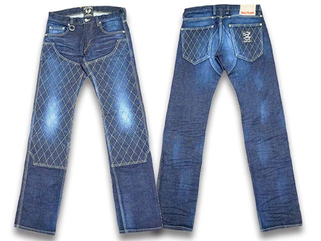 """【SKULL FLIGHT/スカルフライト】「SS Pants Type6 Straight Cut""""Double Knee Stretch Denim""""/SSパンツタイプ6ストレートカット""""ダブルニーストレッチデニム""""」(ヴィンテージ)【送料・代引き手数料無料】【あす楽対応】(CALIFORNIA LINE/カリフォルニアライン)"""