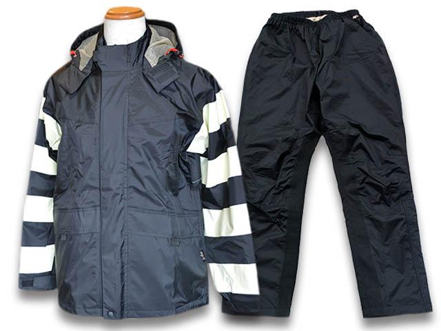 【Vin&Age/ヴィン&エイジ】「Prison Rain Suit/プリズンレインスーツ」(TFR-1401)【送料・代引き手数料無料】【あす楽対応】(ハーレー/プリズナー/囚人/バイク/雨具/カッパ/バイカー/ホットロッド/アウトドア)