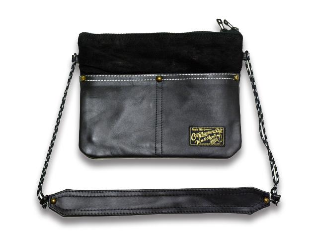 【Vin&Age/ヴィンアンドエイジ】2019SS「Leather Sacoche/レザーサコッシュ」(VBG5)【送料・代引き手数料無料】【あす楽対応】(アメカジ/ハーレー/バイカー/バイク/ホットロッド/プレゼント)