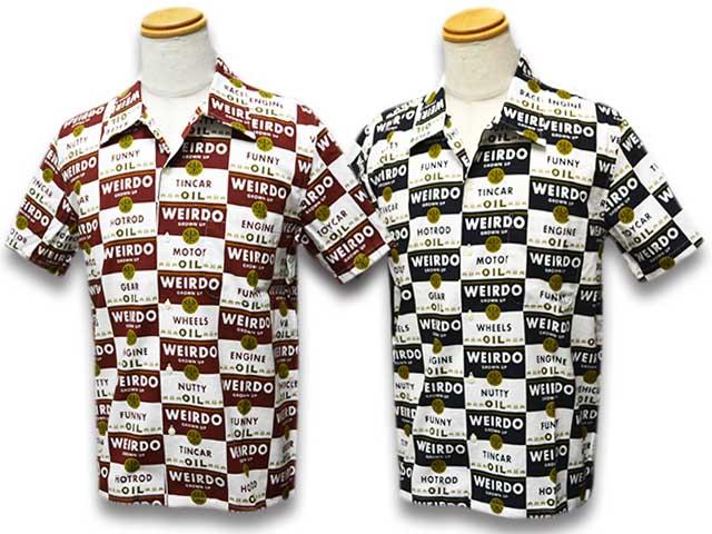 """全2色【WEIRDO/ウィアード】2018SS「Wrd Cans S/S Shirts""""Kids""""/ウィアードカンズショートスリーブシャツ""""Kids""""」(WRD-18-SS-24Kids)【送料・代引き手数料無料】【あす楽対応】(GANGSTERVILLE/ギャングスタービル/GLAD HAND/グラッドハンド/アメカジ/ハーレー)"""