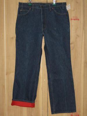 古着 暖かい リーバイス517 ライナー オリンピックモデル 70S W38×L32