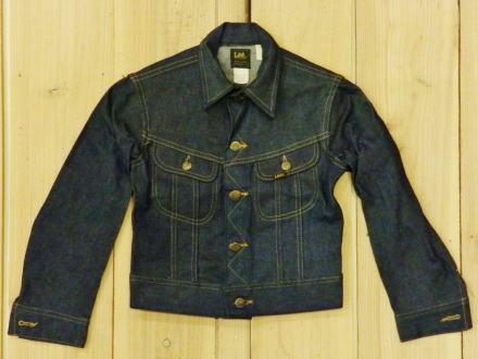 LEE223 デッドストック 70S ボーイズ ジージャン 70S BOYS デニムジャケット Gジャン MADE IN USA