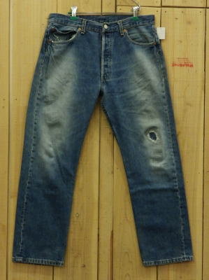 LEVIS リーバイス501 古着 90S 激ヒゲ MADE IN USA W33×L29 中古