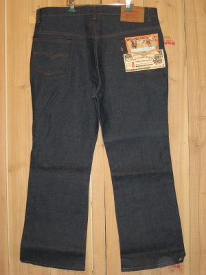 リーバイス517 デッドストック 66後期モデル 70S 大きいサイズ ブーツカットジーンズ W42×L30