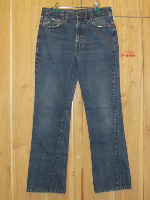 70s古着 リーバイス/LEVIS 517-66前期 シングルステッチ ブーツカット MADE IN USA/W32×L32/送料無料
