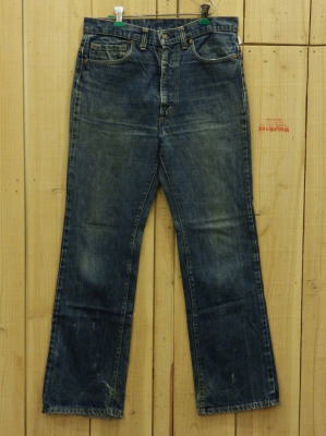 70s古着 リーバイス/LEVIS 517-66後期 ブーツカット MADE IN USA/W33×L32/