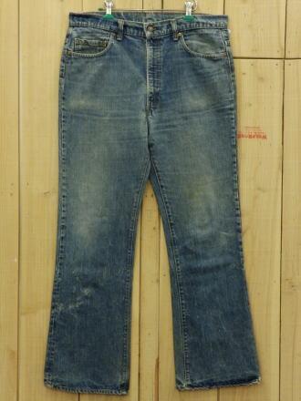 【中古】70s 古着 リーバイス517 LEVIS 517-66後期 W37×L31 ブーツカット MADE IN USA ビンテージジーンズ