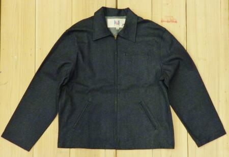 極上品 FIREMAN 70S デッドストック ファイヤーマン ユーティリティ デニムジャケット 大きいサイズ46 カバーオール