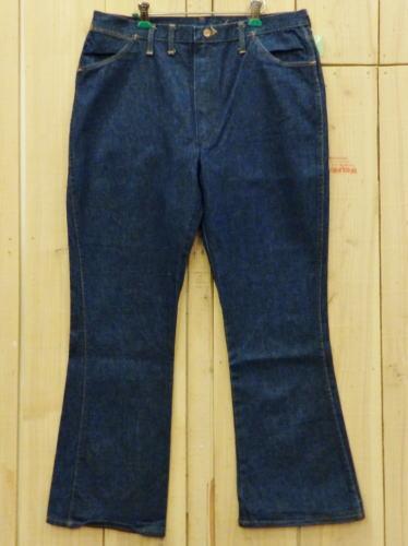 【中古】美品 ラングラー ブーツカット 古着 70S ビンテージジーンズ W39×L31 Wrangler 大きいサイズ MADE IN USA