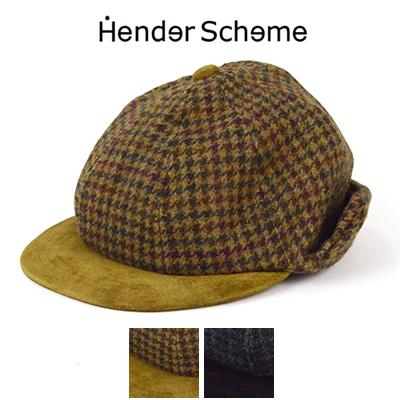 エンダースキーマ Hender Scheme ツイードイヤーキャップ tweed ear cap fl-c-ect 2018AW