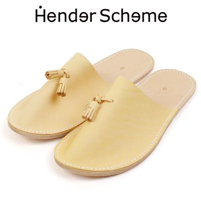エンダースキーマ Hender Scheme レザースリッパ leather slipper in-rc-les