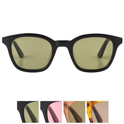 A.D.S.R. エーディーエスアール ZAPPA ザッパ シャイニーブラック クリアーブラウン メガネ 眼鏡 アイウェア サングラス