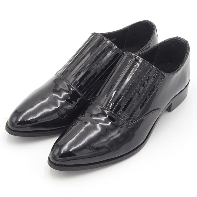 Kartell shoes パテントレザーシューズ
