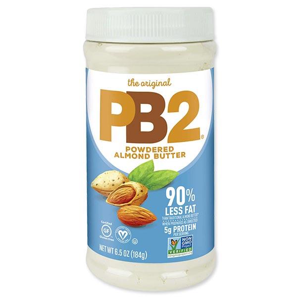 スムージーやシェイクなど幅広く活躍 アーモンドバターパウダー 大決算セール 184g 6.5oz ピービー2フーズ PB2 Foods 実物