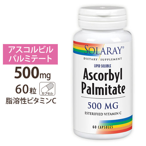 期間限定 脂溶性ビタミンC 500mg 60粒 お気に入り