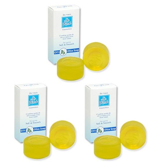 【3個セット】 EXV.オリーザソープ 50g(2個入り) ×3個  無添加・無着色・無番料処方の美容石鹸 エキストラバージンオリーブオイル EXV. 石鹸 石けん