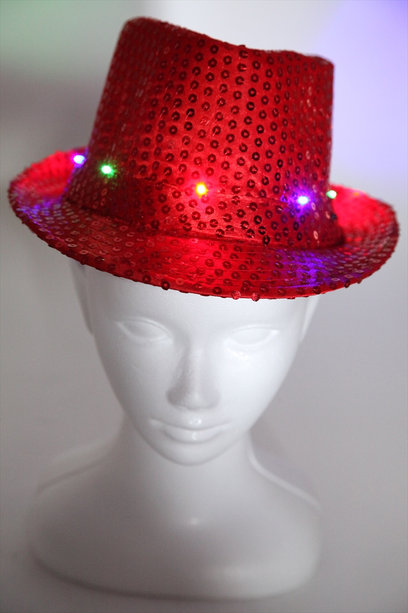 The spangles hat eight colors stage dance stage chorus karaoke clothes live  that a hat glitters