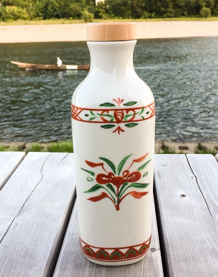 低電位水素茶製造ボトル「還元くん3」1本【赤絵】