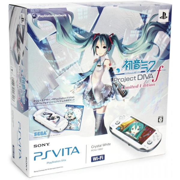 【中古】【本体箱説有り】PS Vita (1000)Wi-Fiモデル(初音ミクLimited Edition)限定【4948872448413】