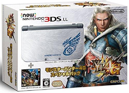【中古】【本体箱説有り・ソフトなし】New ニンテンドー nintendo 3DS LL モンハン4Gスペシャルパック【4976219057776】