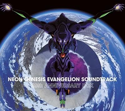 NEON GENESIS EVANGELION SOUNDTRACK 25th ANNIVERSARY BOX<5CD>20201007