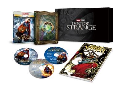 ドクター・ストレンジ MovieNEXプレミアムBOX<3D Blu-ray+Blu-ray+DVD>(数量限定)20170602