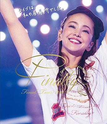 ◆◆安室奈美恵 /namie amuro Final Tour 2018 ~Finally~ (東京ドーム最終公演+25周年沖縄ライブ)<Blu-ray>(通常盤)20180829